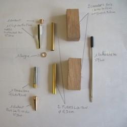 Kit pour tourner un stylo