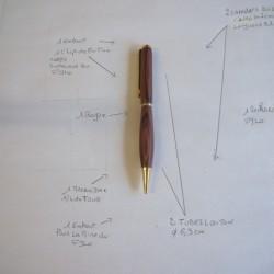 schema pour tourner un stylo