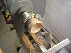 comment tourner une boite en bois