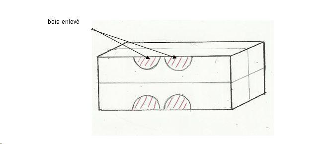 technique de tournage sur bois l 39 assemblage dissoci. Black Bedroom Furniture Sets. Home Design Ideas