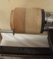 le filetage en tournage sur bois