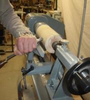 technique du cylindrage en tournage sur bois