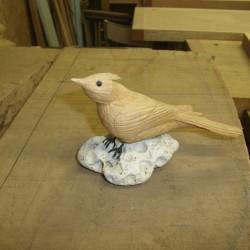 oiseau en bois