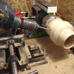 comment tourner une lanterne en bois