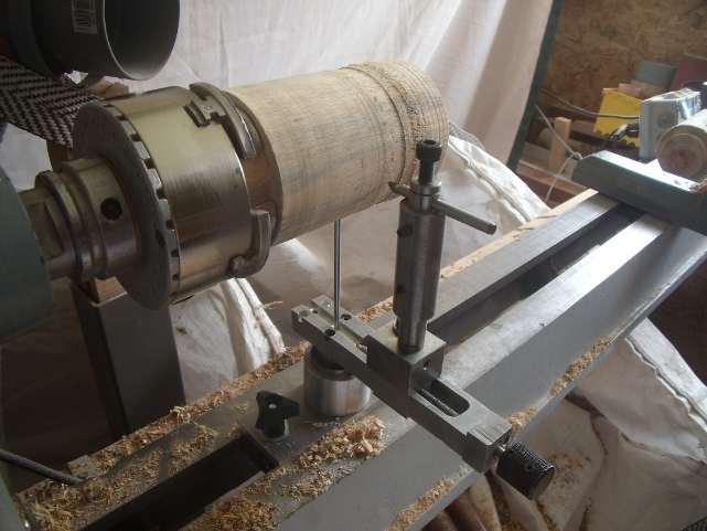 fabriquer facilement une sphèreuse en tournage sur bois