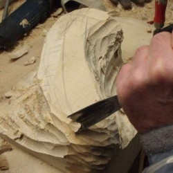 bois de tournage,bloc de bois