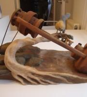 tournage sur bois et sculpture